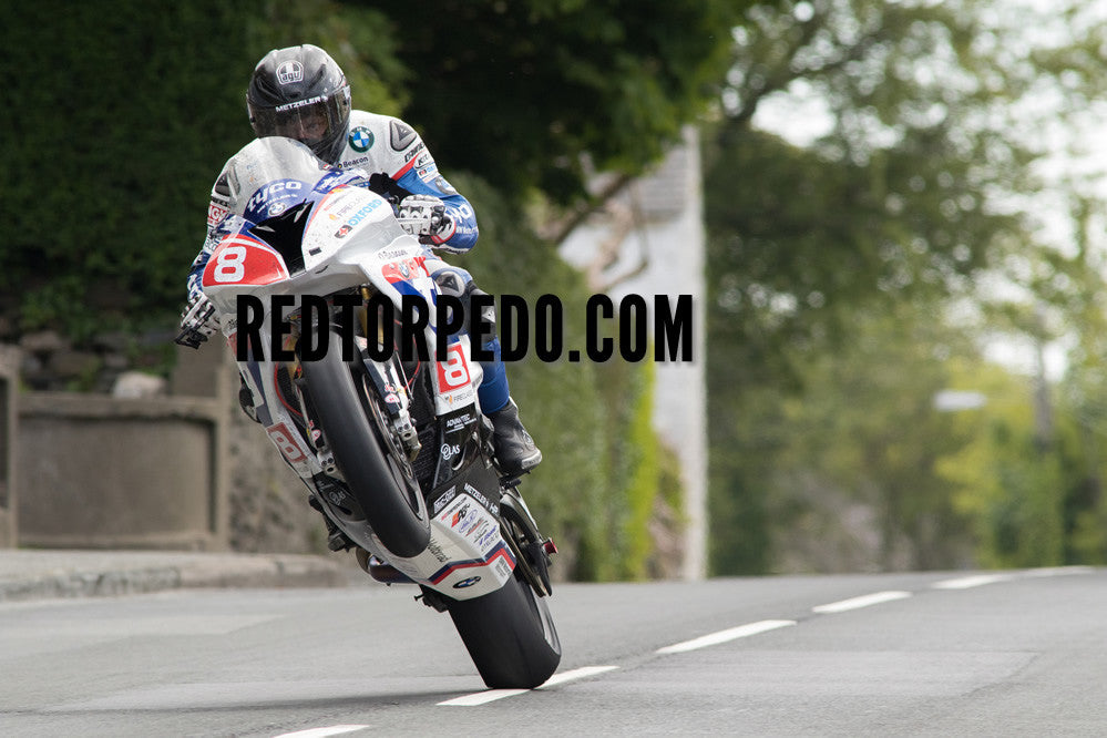 Guy Martin at Glen Vine 2015 - A3 Print