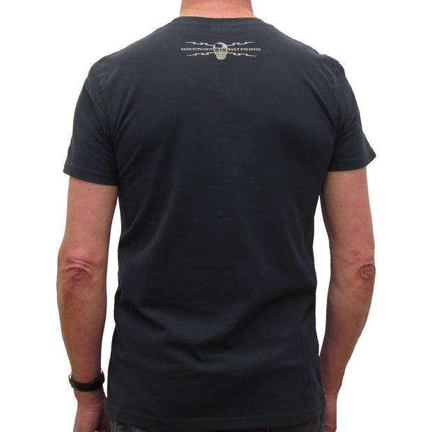 Road Racer (Mens) Black T-Shirt