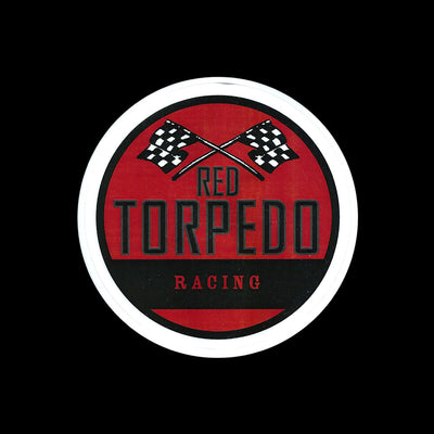 Red Torpedo Racing Sticker