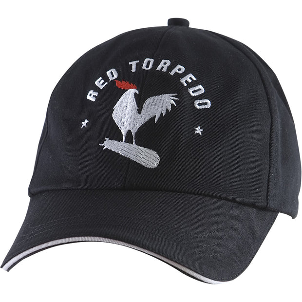 RT Logo Skip Cap Black