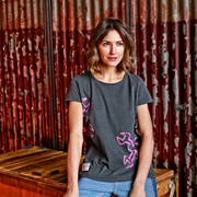 Guy Martin 'Spannerrap' (Ladies) Graphite T-Shirt