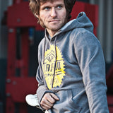 Race Sprocket (Mens) Graphite Hoodie