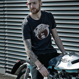 Velocette 1913 (Mens) Graphite T-Shirt