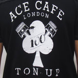 Ace Cafe Rockers (Mens) Black Polo Shirt