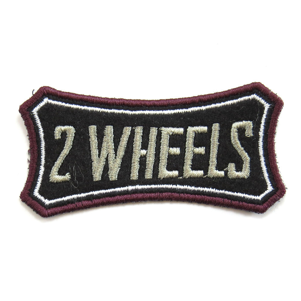 Red Torpedo Two Wheels Patch