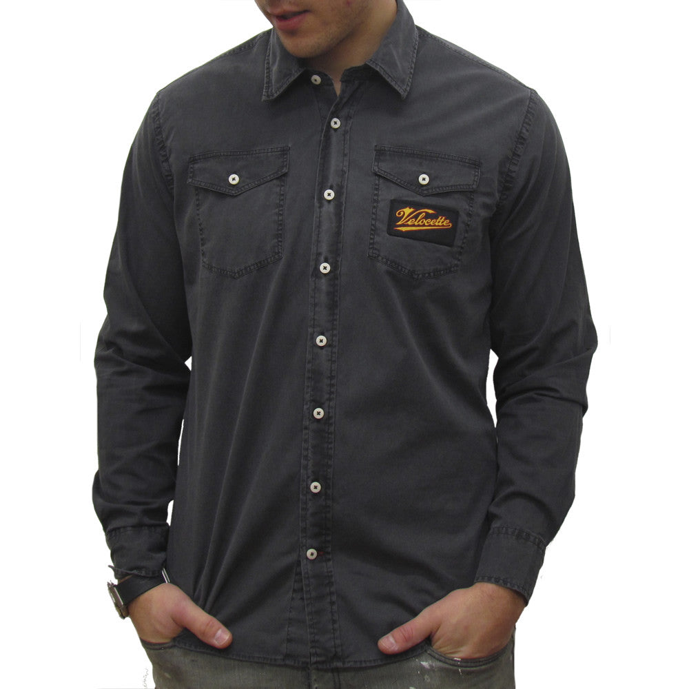 Velocette (Mens) Long Sleeve Shirt