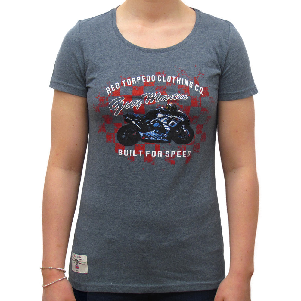 Guy Martin Built for Speed (Ladies) T-Shirt