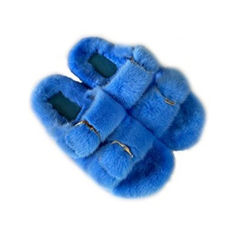 Royal Blue Arizona Slippers