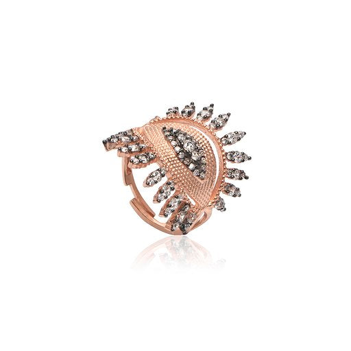 Rebel Adjustable Eye Ring