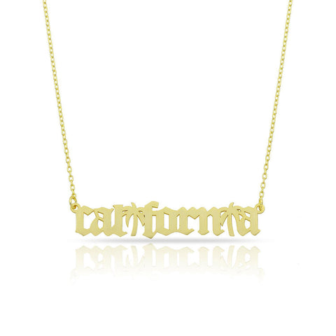 Polished California Necklace