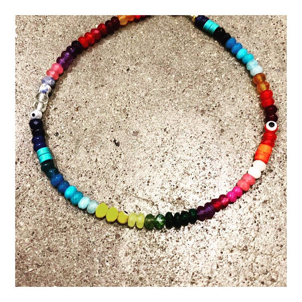 Mexicali Custom Beaded Anklet