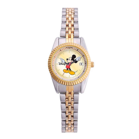 Montre Mickey Mouse Rolex Style 26mm 2 Tones
