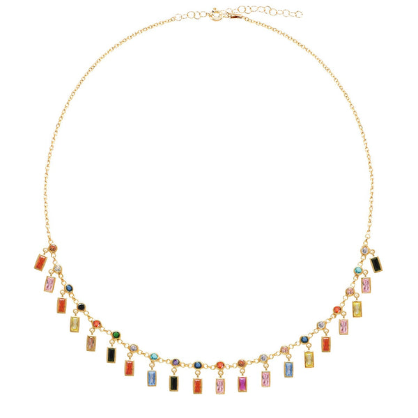 Barrette Drops Necklace