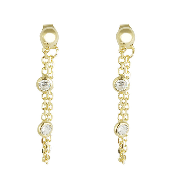 Nelly Dangling Stud Earrings