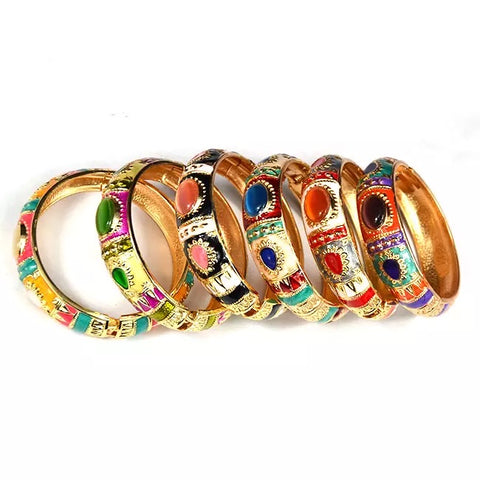 Ethnic Brocade Novelty Bracelet