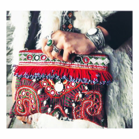 SALE Belly Dancer Pouch