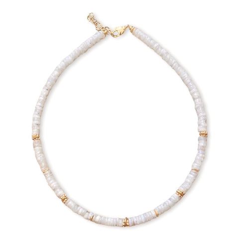 Marlow Moonstone RT Mazal Beaded Necklace