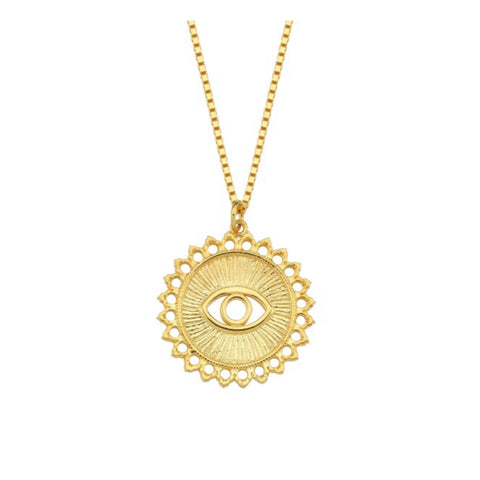 Vintage Style Eye Necklace