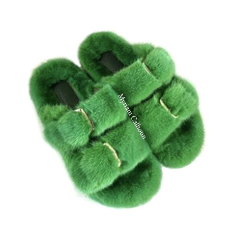 True Green Arizona Slippers