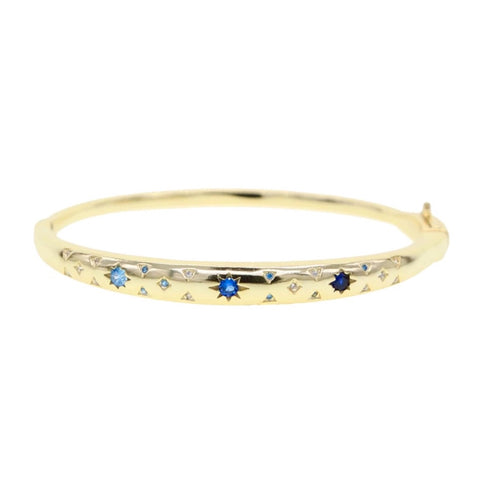 Star Set Bangle