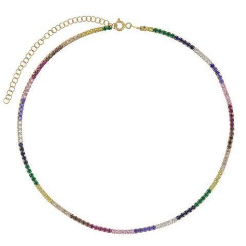 Collar Tennis Necklace
