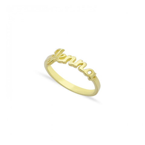 Script Name Band Ring