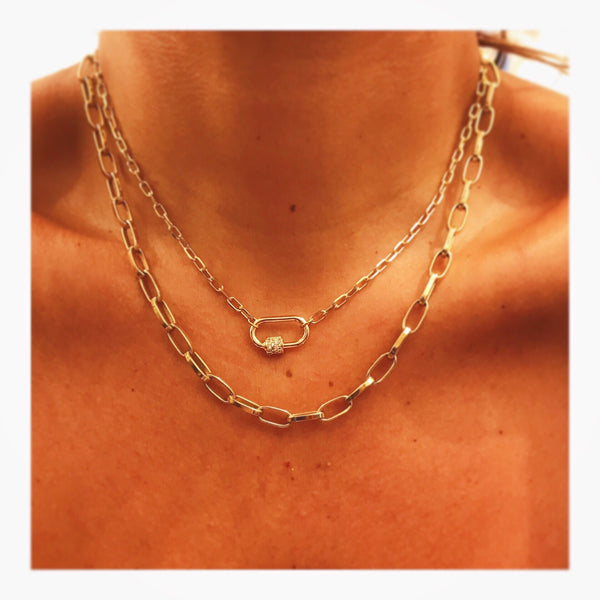 Celine Large Links Chain Necklace