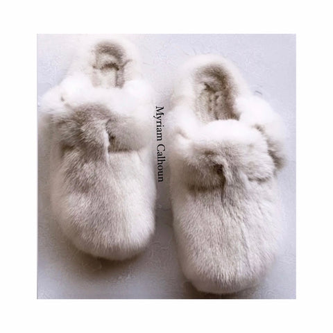 Nude Boston Slippers