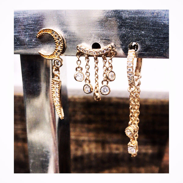 Captain Hook Stud Earring