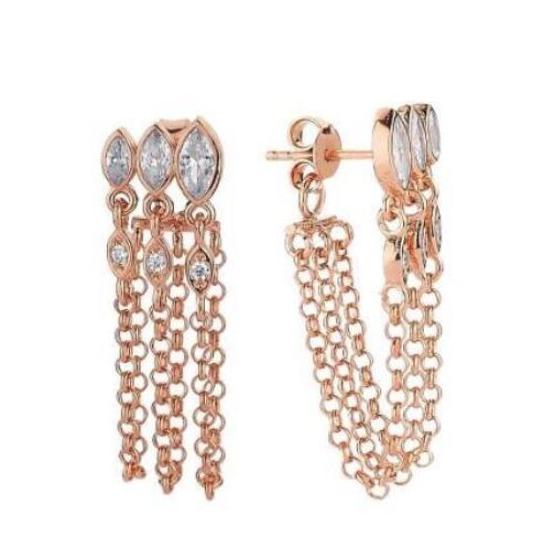Triple Kiki Short Earring