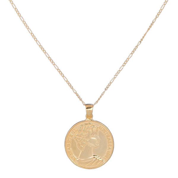Medium Roman Coin Necklace