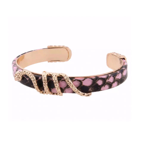SALE Snake Leather Style Bangle