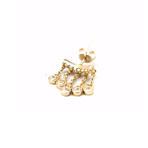 SALE Mini waterfall stud earring