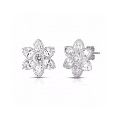 SALE Lotus Stud Earrings
