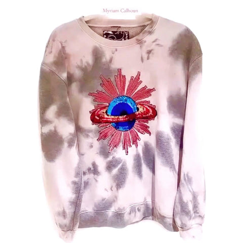 Pink Sequins Planet TD Sweat-shirt