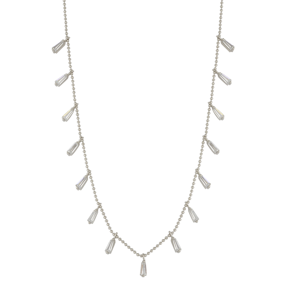 Rectangle Drops Necklace