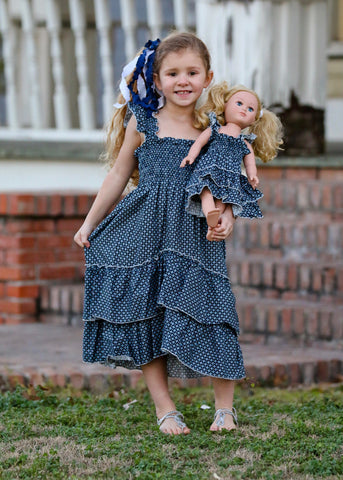 Angel dress - Feeling Blue size 4, 6, 8, 10