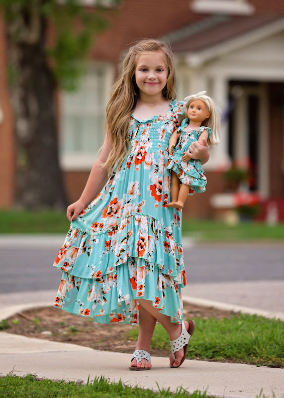 Angel dress - Sunset by the Sea size 4, 6, 8, 10
