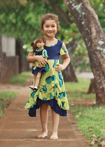 Scarlett Dress - Summer Pineapple size 4, 6, 8, 10, 12