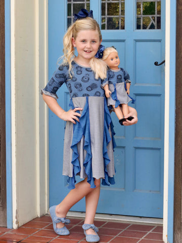Maya dress - Russian Dolls size 4, 6, 10, 12