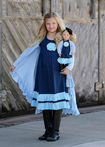 Duster - Baby Blue sz 4, 6, 8, 10, 12