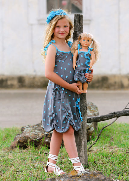 Violin dress - Scribbly Fun size 4, 6, 8, 10, 12