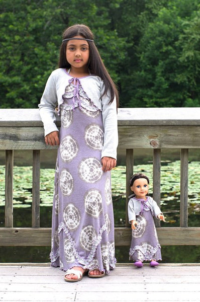 Gloria Maxi Dress - purple