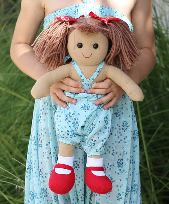 Doll Overall - Turquoise