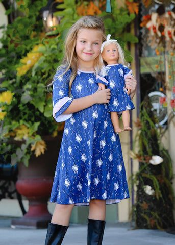 Abby Dress - Unicorn Dust size 4, 6, 8, 10, 12