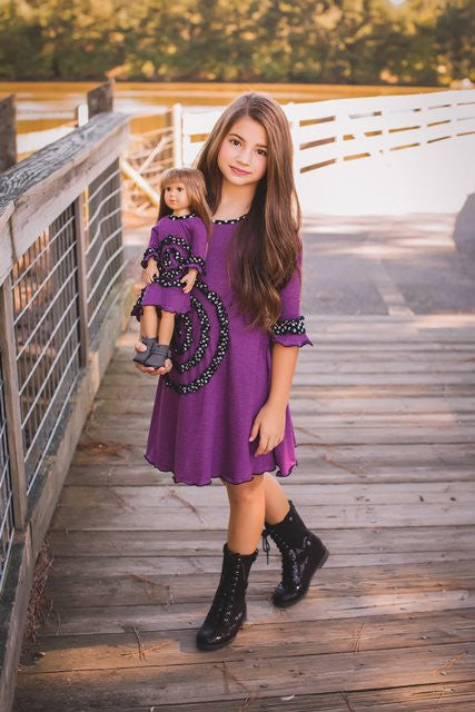 Shelley dress - Purple