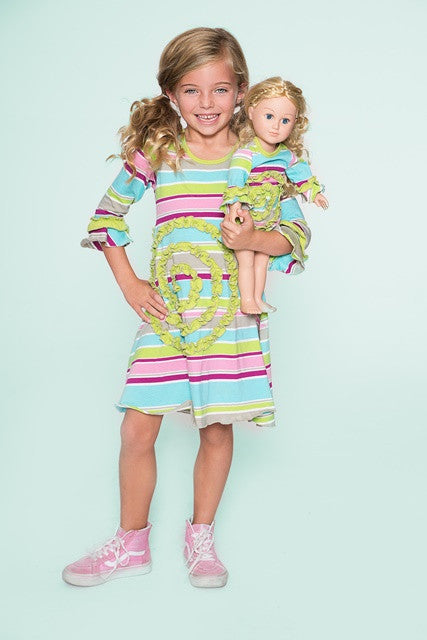 Shelley dress - Popsicle Fun