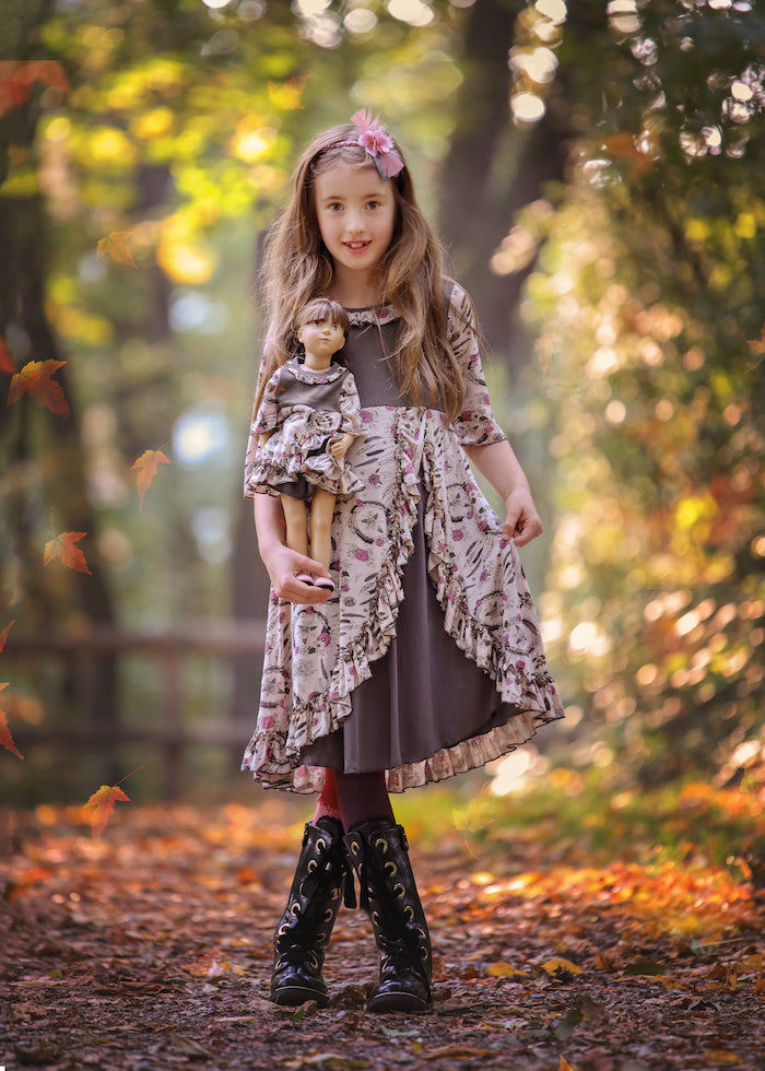 Anna dress - Bohemian Princess  size 4, 6, 8, 10, 12