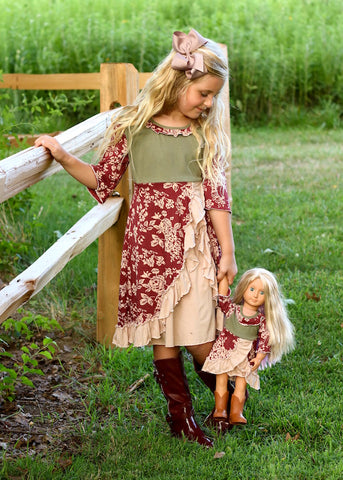 Anna dress - Country Princess size 4, 6, 8, 10, 12