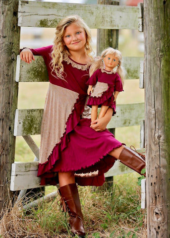 Anna dress - Barn Princess size 4, 6, 8, 10, 12